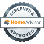 Home Advisor Logo - Screened and Approved