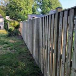 New Fence Construction in Prince Frederick, Maryland