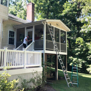 New Screened-In Porch Project After