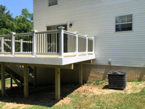 Pressure-Treated Wood Deck-Chesapeake Beach Back Side Profile