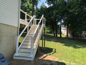 Deck Stairs in Chesapeake Beach