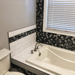 White Bathroom Remodel in Newburg, Maryland (Part II)