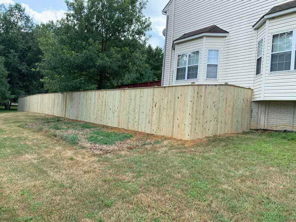 7th State Builders - New Fence