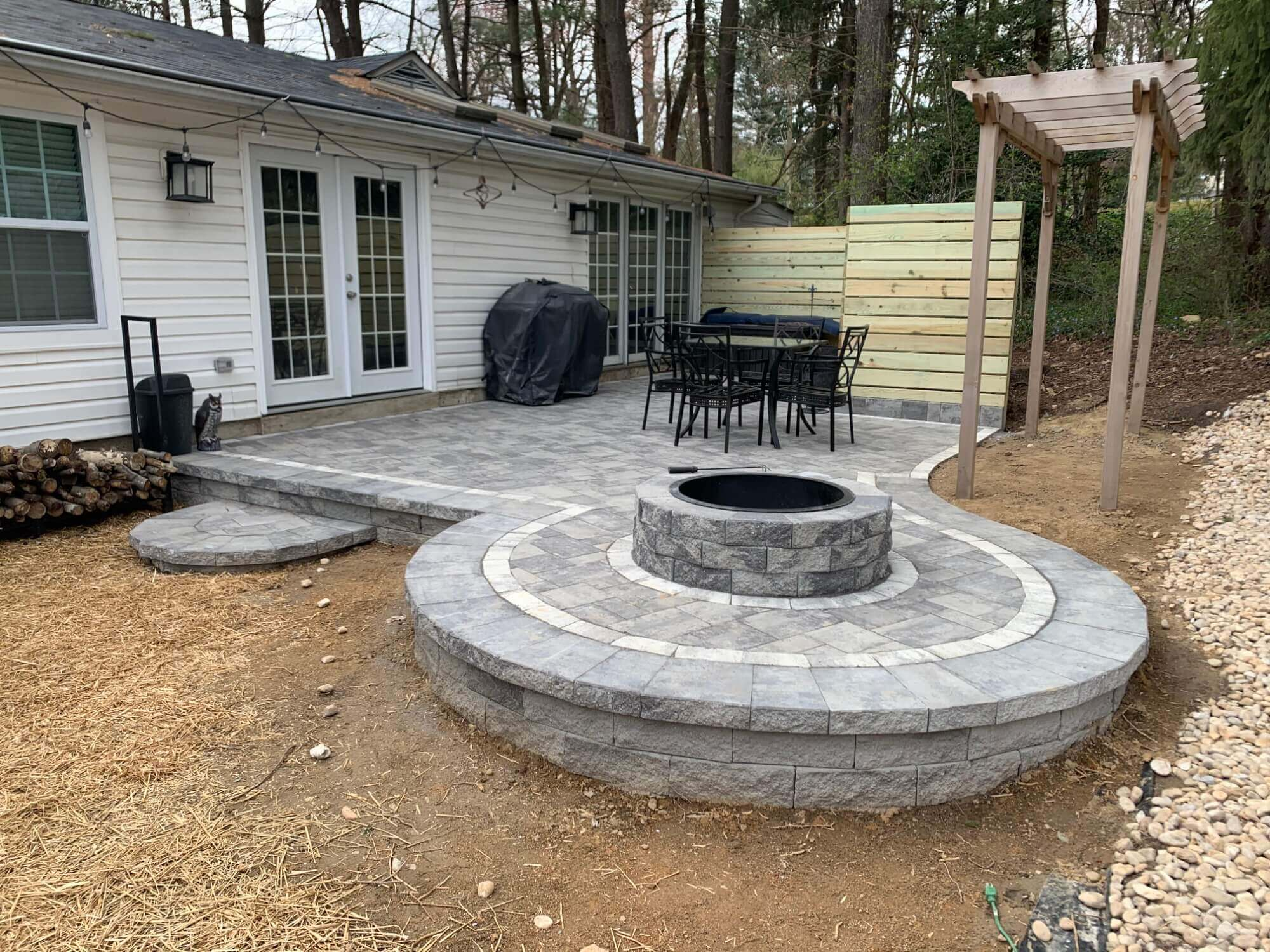 7th State Builders - Patio Fire PIt