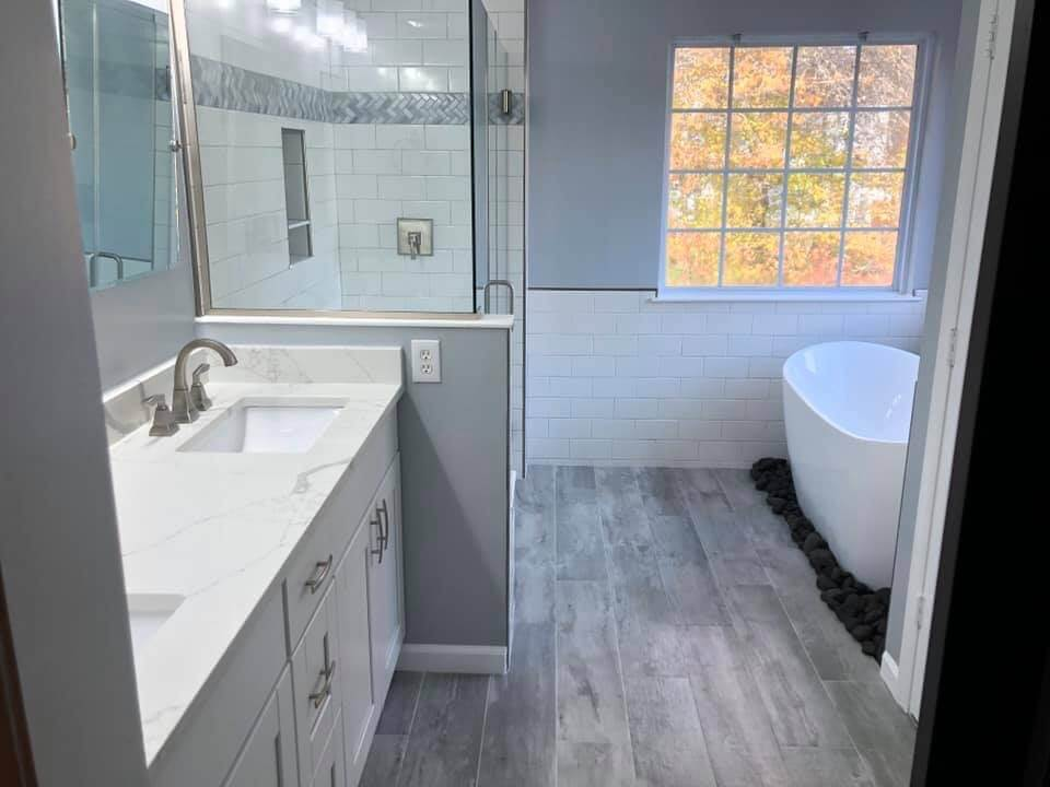 Custom Master Bathroom Remodel - After