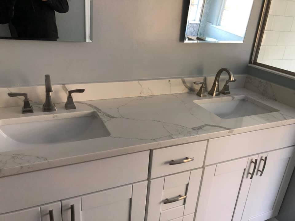 Master Bathroom Dual Vanity