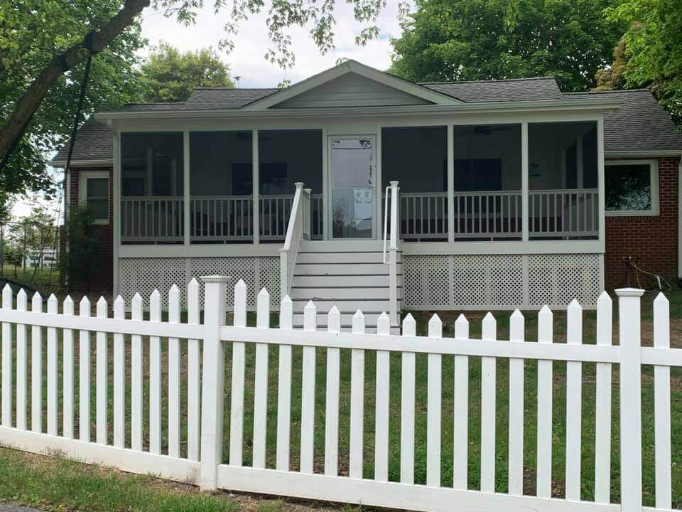 Street View of Front Porch