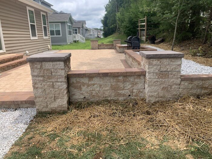 New Patio After - Waldorf Project