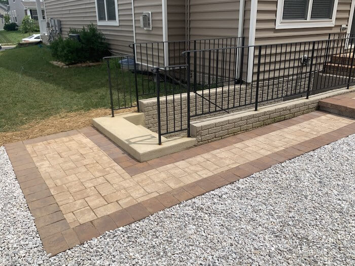 Walkway - New Patio in Southern Maryland