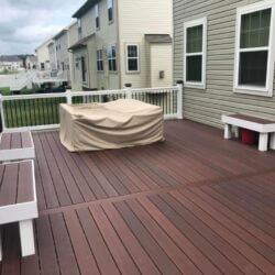 New Composite Deck and Screened-in Porch in Waldorf, MD