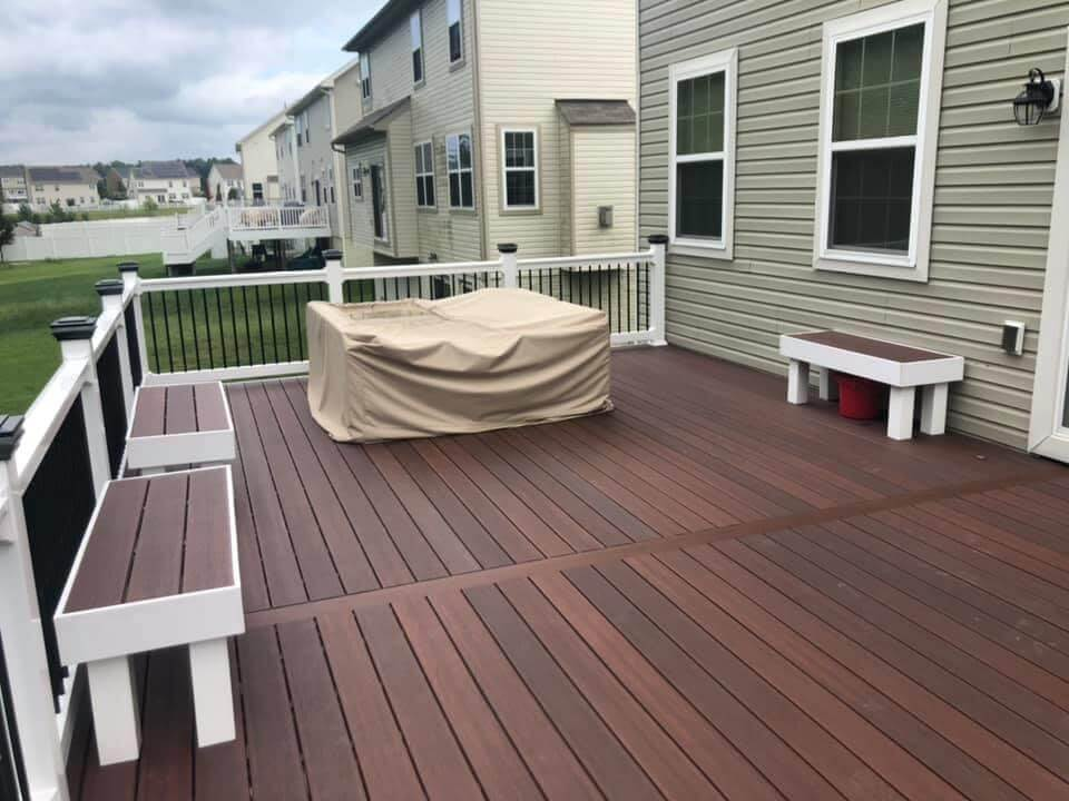composite deck fiberon floor