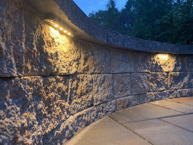Paver Patio Lighting
