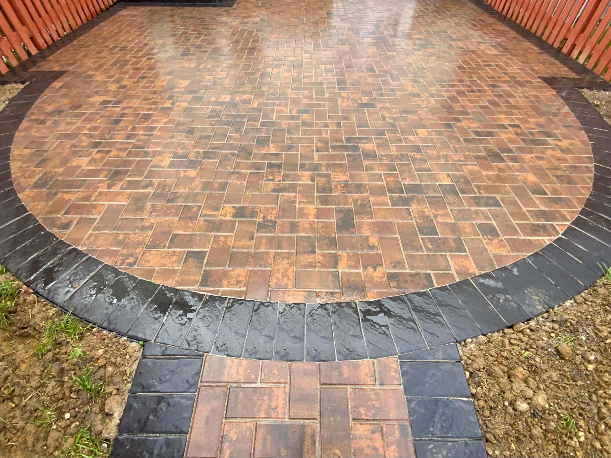 After 3 townhouse patio