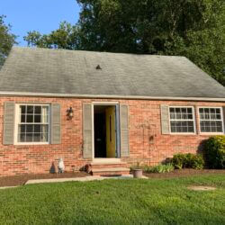 Before & After Home Facelift in Prince Frederick, Maryland