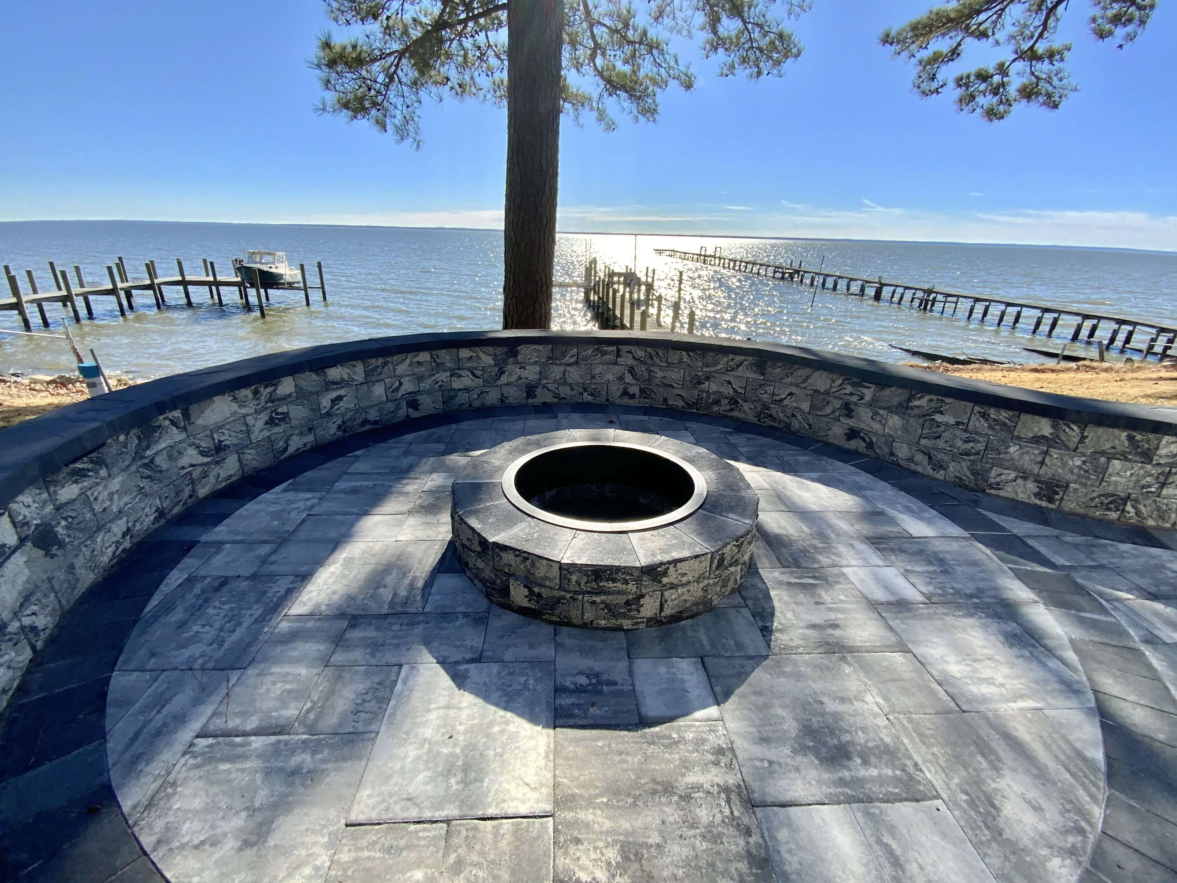 Custom Fire Pit St. Mary's County