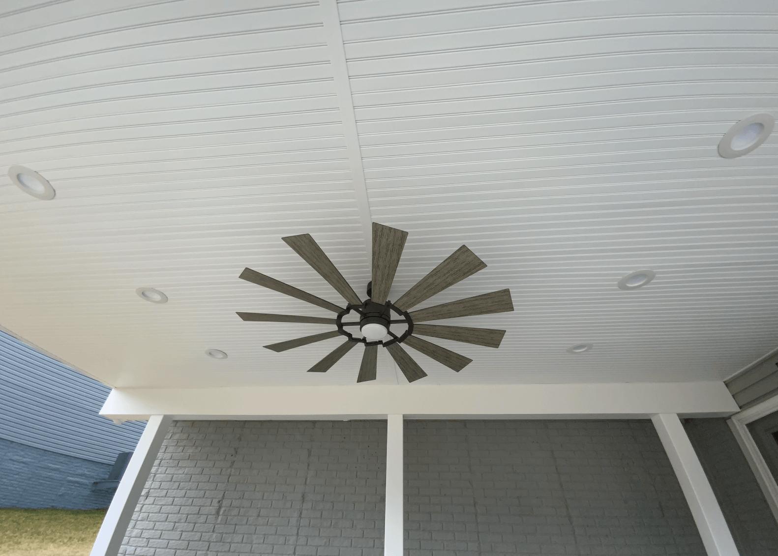 Fan Under Deck