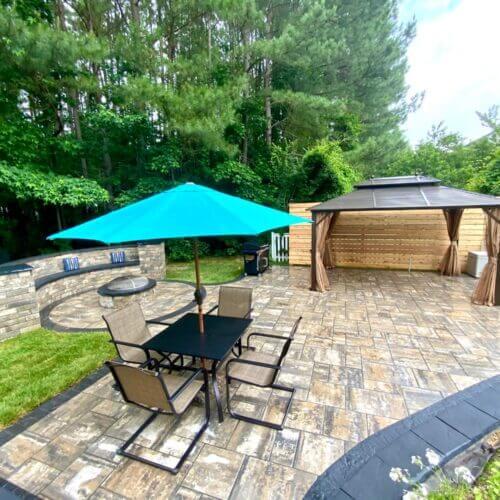 backyard transformation