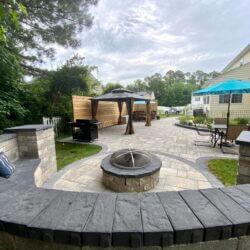 Backyard Transformation in Great Mills, Maryland