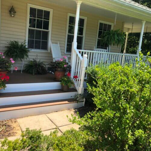 New Deck + Screened-in Porch in Sunderland, Maryland (after Image)