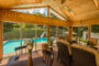 Screened Porch with pool